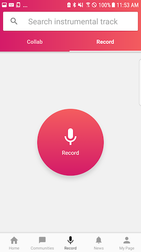 record screen android
